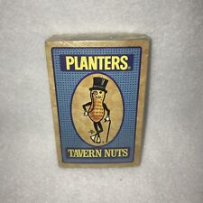 *Hoyle Plastic Coated Planters Tavern Nuts Sealed Deck of Cards NEW Made in USA