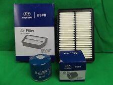 GENUINE HYUNDAI TUCSON CITY SUV 2.0L PETROL FILTER PACK(OIL FILTER + AIR FILTER)
