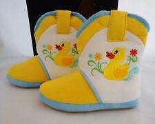 NIB CICCIBELLA COWGIRL RIDERS RAINY DAY DUCK BOOT SLIPPERS GIRLS SIZE S/12-13.5