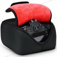Camera Sleeve Case with Neoprene Protection For Nikon Canon Sony Leica DSLR SLR
