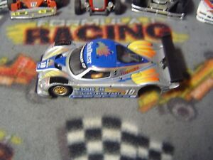 1/32 Sideways(Slot.it) #10 RileyMKxx body with chassis but no motor pod-used
