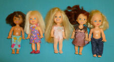 Barbie's Sister Kelly & Friends Dolls set of 5