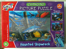 LQQK Galt Toys 3d Haunted Shipwreck Changing Picture Puzzle