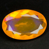 Natural Gemstone Natural 2.95 ct Oval Multi-Color Opal Ethiopia/S1325