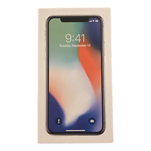 Apple iPhone X Silver Box Only