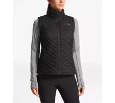 2020 NWT WOMENS THE NORTH FACE THERMOBALL VEST $150 S TNF Black Matte