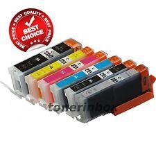 6pk PGI-250XL CLI-251XL with Gray Ink Set  Fits Canon Pixma iP8720 MG6320 MG7120