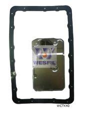 WESFIL Transmission Filter FOR Toyota SOARER 1990-1997 V8 / 4.0L A340 WCTK40