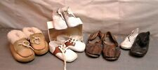 4 Pairs of Baby and Children Shoes Saddle, Moccasins, Hirachis, Mrs. Days Ideal
