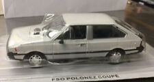 1:43 FSO Polonez Coupe Prima 3 Door White Diecast Scale Model Car