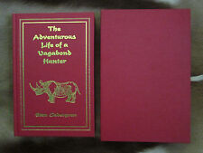 The Adventurous Life of a Vagabong Hunter by Sten Cedegren Limited Safari Press