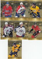 2015-16 UD TIM HORTONS SHINING FUTURES lot of 7 DIFFERENTS CARDS     a