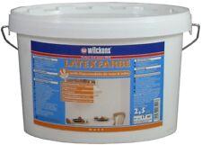 Wilckens LATEXFARBE weiss matt 2,5L Dispersionsfarbe abwaschbar