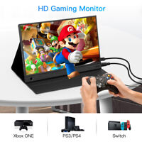 "15.6"" USB C IPS HDMI Monitor 1920x1080 HDR Gaming Display for Xbox One PS3 BRO"