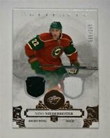 2017-18 17-18 UD Artifacts Material Silver #12 Nino Niederreiter /165