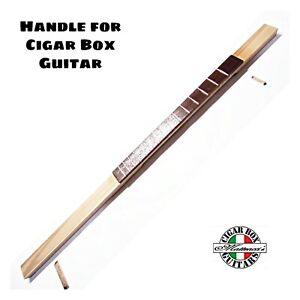 Manico Per Cigar Box Guitar 3/4 corde  Handle c.b.g. Robert Matteacci