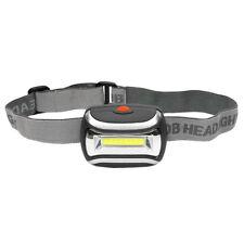 COB Outdoor LED Head Lamp Torch 5W Headlight 600 Lumens Bright Adjustable Angle