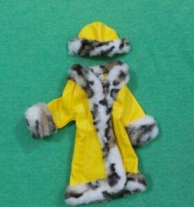 Vintage Barbie Doll Clothes - MOD Era Barbie 1459 Great Coat - Coat and Hat