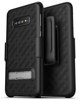 Encased For Samsung Galaxy S10 Plus Belt Clip Case Holster w/ Kickstand
