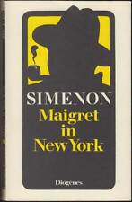 Maigret in New York: Band 27 Softcover (Diogenes 1985, 20820) Z 1-2