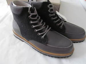 NWB Lacoste Montbard Grey Chukka Boots Size 9.0 $220