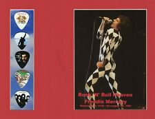 Freddie Mercury Rock 'N' Roll Heaven Picture Guitar Picks Queen We Will Rock You