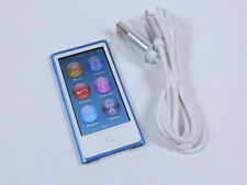 Apple iPod Nano 16GB 7th Gen Generation Blue MP3 WARRANTY