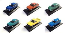 Lot de 6 Dacia 1/43 - Voiture miniature Diecast Model Car LBA1