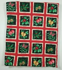 Handmade Set of 2 Placemats 1 Table Runner Quilted Christmas Unfinished