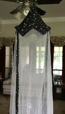Princess Canopy for Girls Bed – Girl's Room Baldachin Anti Mosquito Netting New