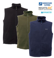 REGATTA  TOBIAS MENS GENTS LIGHT FLEECE VEST WAISTCOAT BODYWARMER GILET WORK