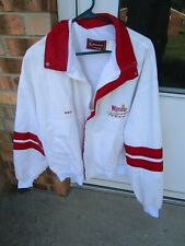 Vintage Swingster Winston Cup Racing Jacket Old School Made In USA Men's XL Nice