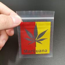Pack Sachet zip fantaisie Marijuana lot de 25.