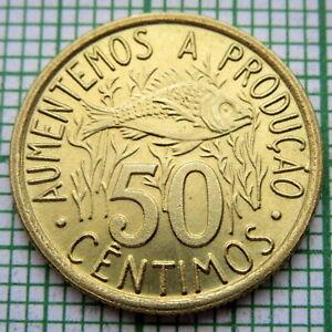 SAINT THOMAS & PRINCE São Tomé and Príncipe 1977 50 CENTIMOS, FAO - FISH, UNC