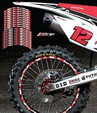 HONDA CRF CAMO RIM STICKERS DECALS GRAPHICS TAPES TO FIT 65 85 125 250 350 450