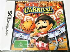 "NEW CARNIVAL GAMES. DS / DSI / 3DS ""NEW SEALED"" AUZ SELLER"