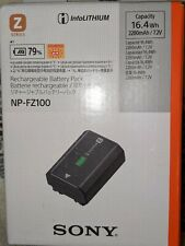 Sony NP-FZ100 Rechargeable Lithium-Ion Alpha Series Camera Battery 2280mAh NEW!