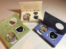 Dong Hui Pearl Gift Set LOT of 3 With Mollusk, Charm Bracelet, Necklace, Earring