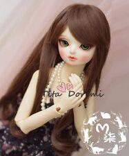 Bjd Doll Wig 1//6 6-7 Dal Pullip AOD DZ AE SD DOD LUTS Dollfie pink Toy// Hair