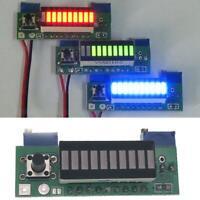 DIY LM3914 battery Capacity indicator Power Level LED Indicator Display Kits Red