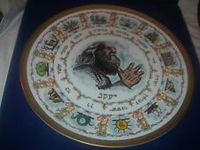GOEBEL LASZLO ISPANKY 1st EDITION LIMITED PLATE 12 TRIBES OF ISRAEL 1978 NIB