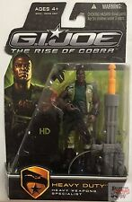 "HEAVY DUTY CAMO GEAR GI JOE Rise Of Cobra 2008 3.75"" Inch Action FIGURE"
