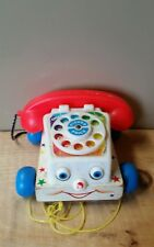 old vintage fisher price toy phone