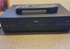 RCA VR347 B 4-Head VHS VCR Video Cassette Recorder RCA UNIVERSAL REMOTE INCLUDED