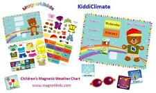Magnetikids Kiddi Climate- Childrens Magnetic Weather Chart