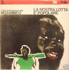 CANTI RIVOLUZIONARI DEL MOZAMBICO lp Italy mint