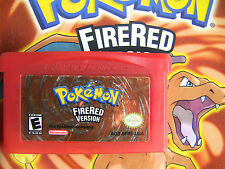 Unlocked AUTHENTIC FireRed All 386 Legit Legal Pokemon Nintendo DS GBA Great