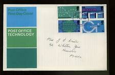 GB FDC 1969 Post Office Technology Londra SE1 IED