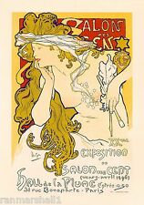 Salon des Cent #2 Paris Vintage French France Poster Picture Print Advertisement