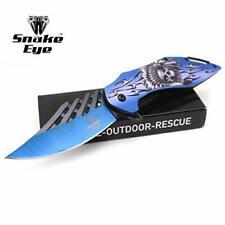 Snake Eye Tactical Every Day Carry Fantasy Skull Design Folding Knife